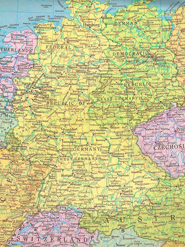 德国必须灭亡!(至少在地图上)图片