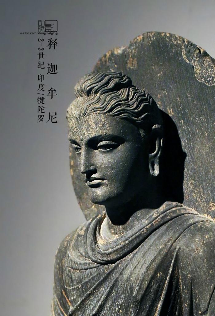 相比我国的佛教造像,犍陀罗雕塑的立体感更强,人物形象有更偏写实.