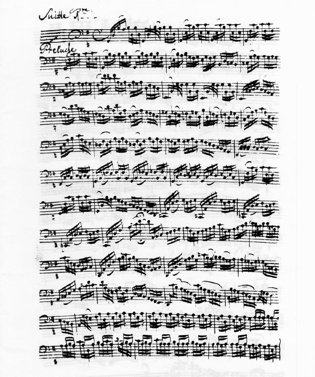 大提琴的诗篇 听沙弗兰演奏巴赫 无伴奏大提琴组曲 有感 十五言