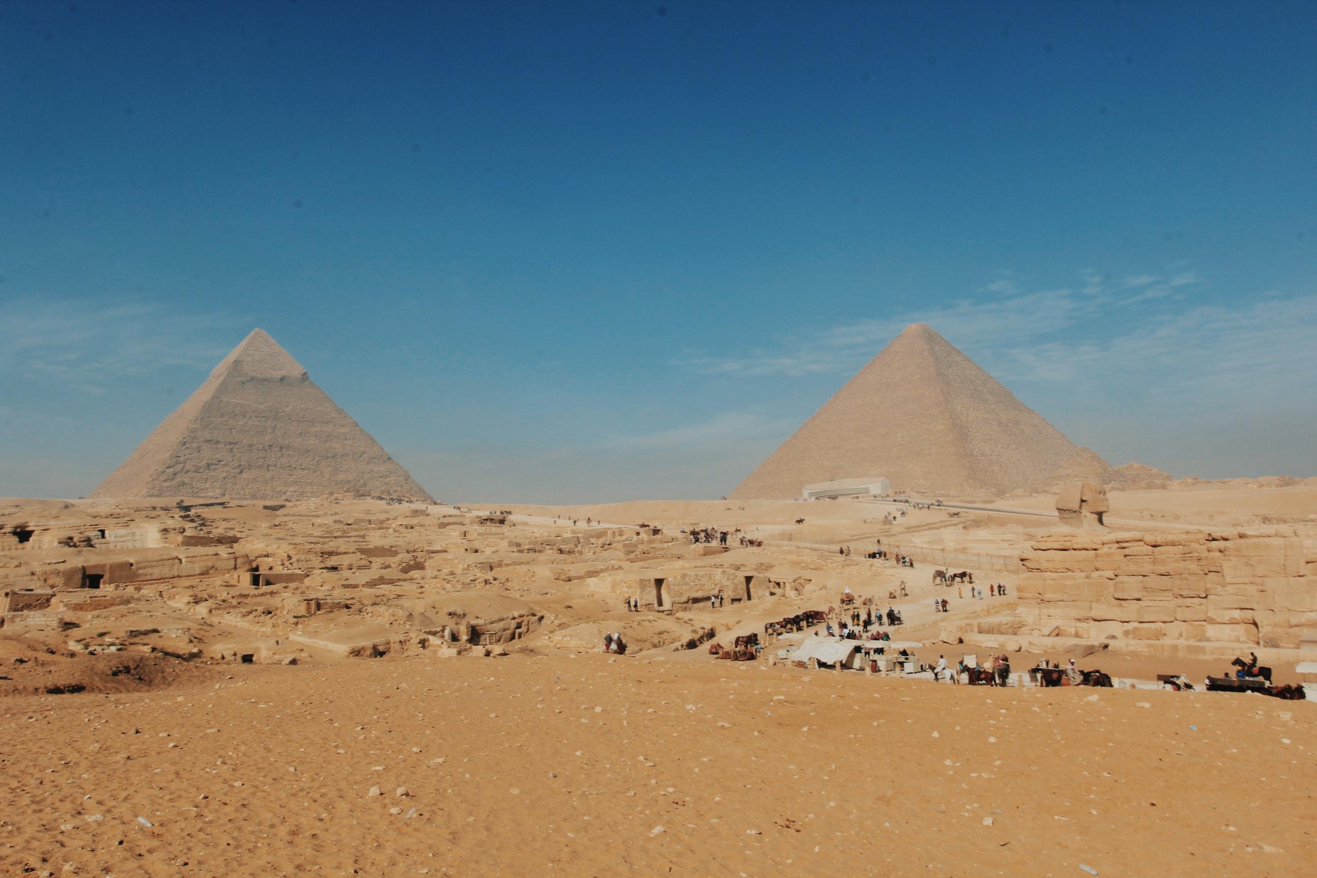 我和金字塔的故事