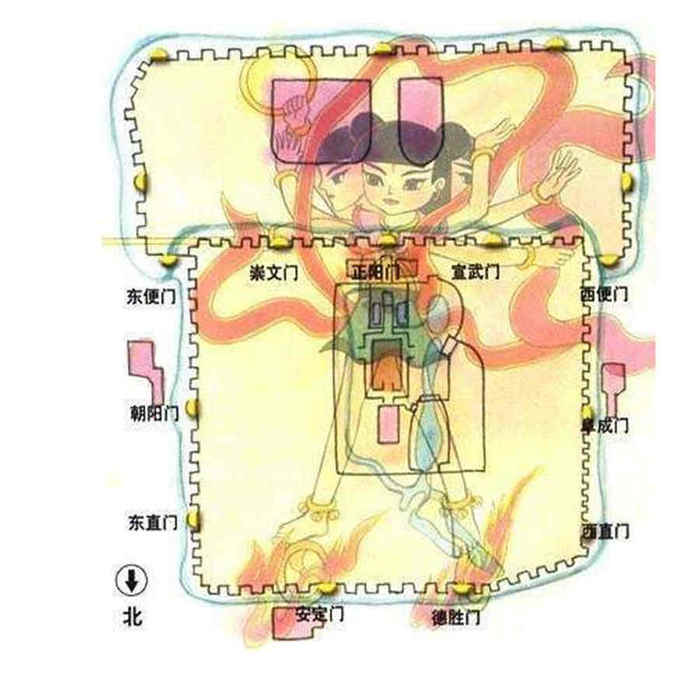 《西游记》搞错了,真正的哪吒原来是三头八臂?图片