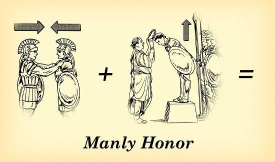 男子的名誉 (一) - 什么是名誉? - 十五言
